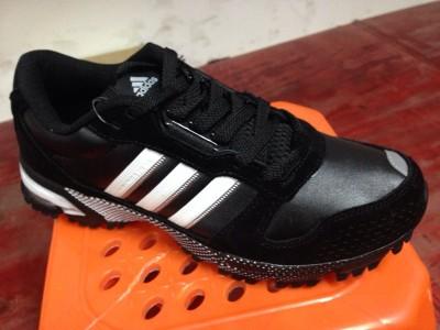 Adidas Marathon Tr 10 чёр. кожа