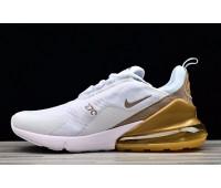Nike Air Max 270 бел-золото