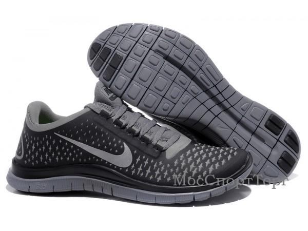 Nike Free 3.0 V4 чёр. - дисконт цена
