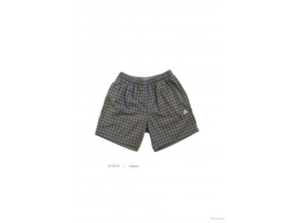 Шорты Adidas клетка арт. E13079  - дисконт цена