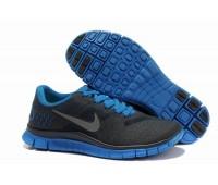 Nike Free 4.0 V2 чёр/син.