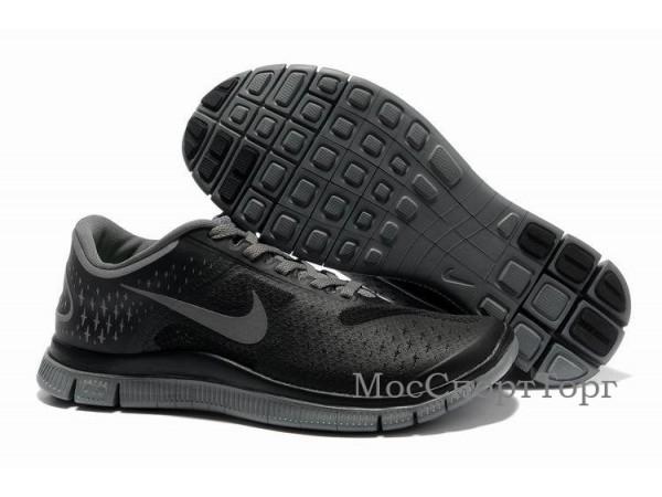 Nike Free 4.0 V2 чёр. - дисконт цена