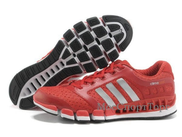 Adidas Revolution Climacool крас.  - дисконт цена