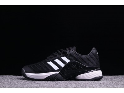 Adidas Barricade 2018 Boost чёр-бел