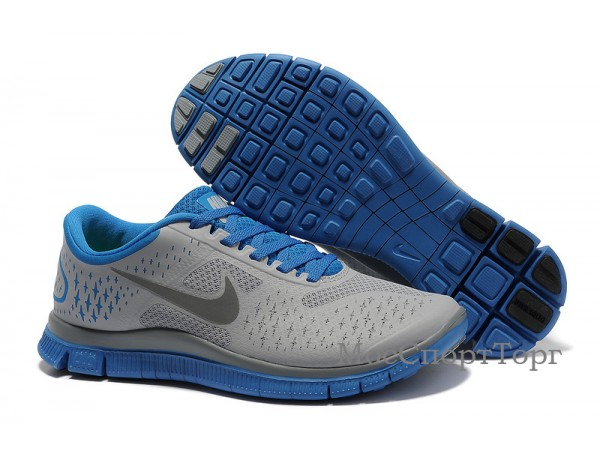 Nike Free 4.0 V2 сер/гол. - дисконт цена