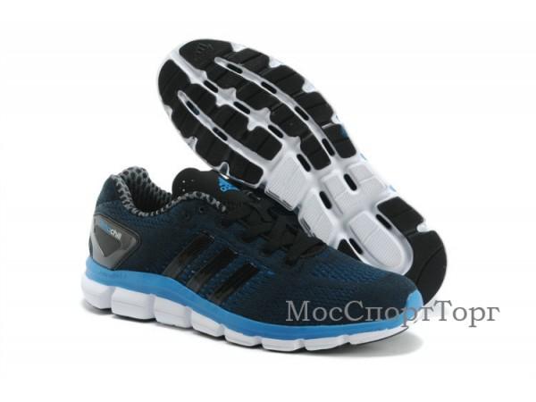 Adidas Ride Climacool чёр/син.  - дисконт цена