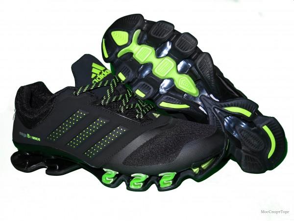Adidas Mega Bounce 3D чёр-сал.  - дисконт цена