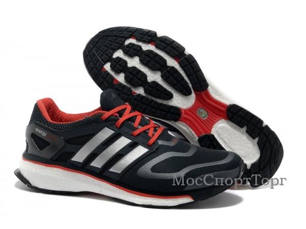 Adidas Energy Boost чёр/крас  - дисконт цена