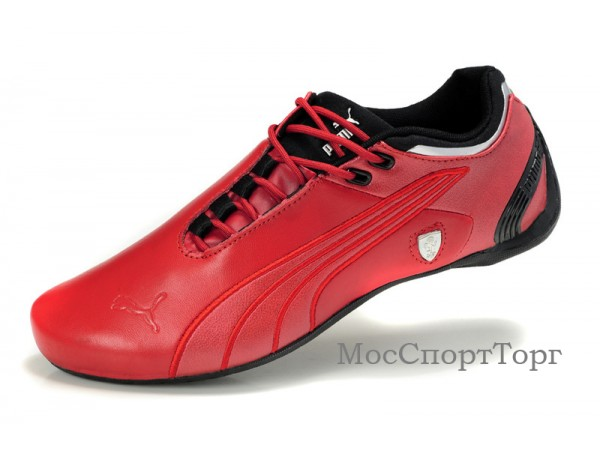 Puma Ferrari Cat M2 кожа крас. - дисконт цена