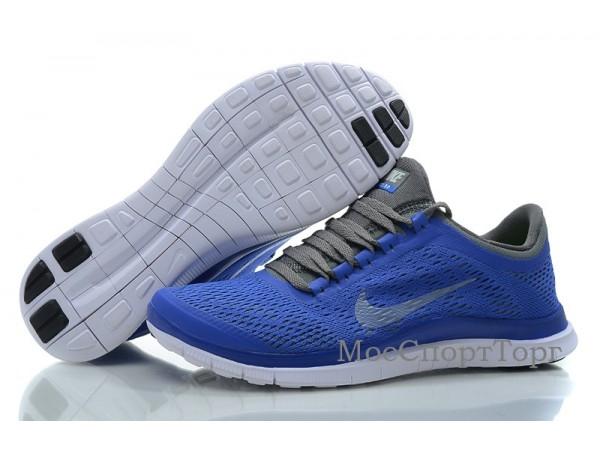 Nike Free 3.0 V5 син. - дисконт цена