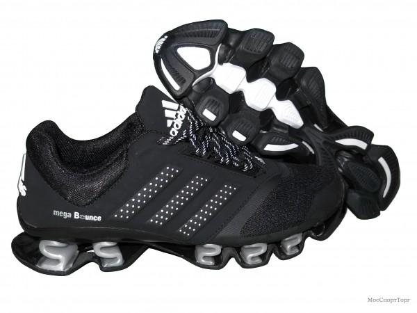 Adidas Mega Bounce 3D чёр-сер.  - дисконт цена