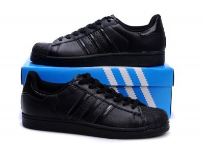 Adidas Originals Superstar кожа чёр.