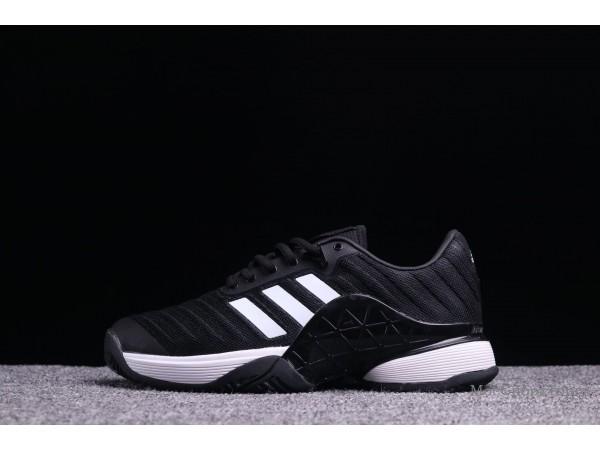 Adidas Barricade 2018 Boost чёр-бел  - дисконт цена