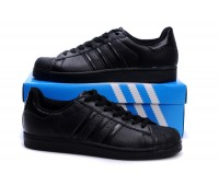 Adidas Originals Superstar кожа чёр.