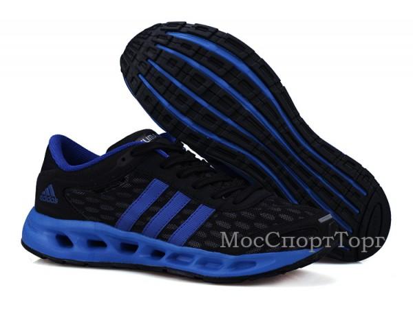 Adidas Solution Climacool чёр/син. - дисконт цена