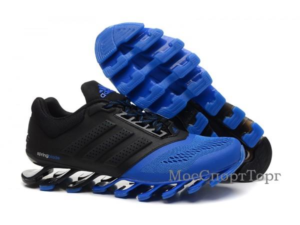 Adidas Springblade Drive-2 чёр/син.  - дисконт цена