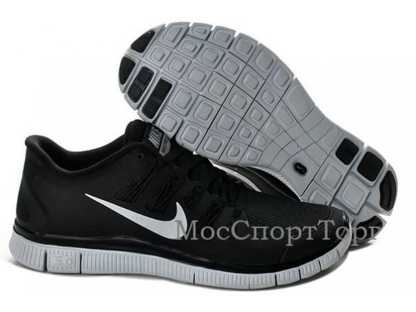 Nike Free 5.0+ чёр. - дисконт цена