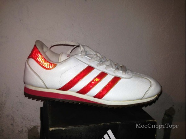 Adidas Samoa '99 бел-крас. - дисконт цена