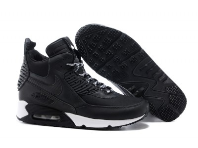 Nike Air Max 90 winter чёр.