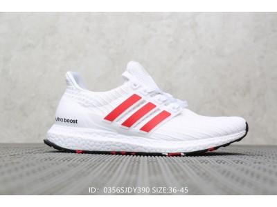 Adidas Ultra Boost 2019  бел-крас