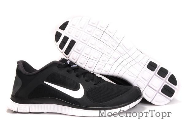 Nike Free Stripe 4.0 V3 чёр/бел. - дисконт цена