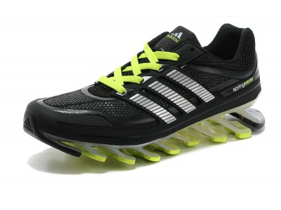 Adidas Springblade чёр/салат.