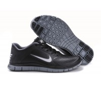 Nike Free 4.0 V3 кожа чёр.