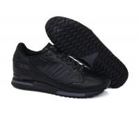 Adidas ZX 750 кожа чёр.